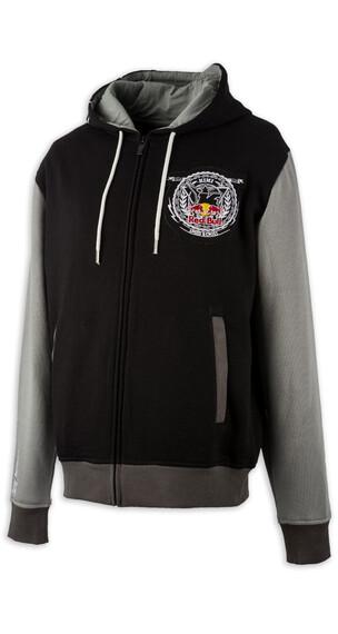 Kini Red Bull Crest Capuchon Heren grijs/zwart